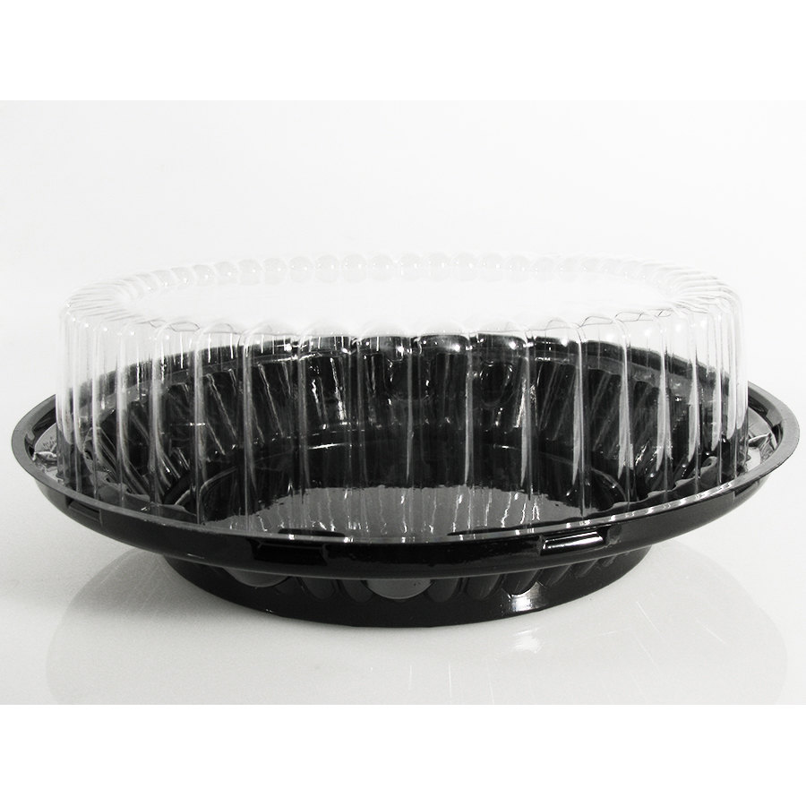 Wilkinson J43 9 inch Pie Display Container with High Dome Lid 10 / Pack