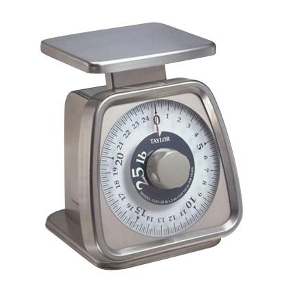 Taylor TS25KL 25 lb Analog Portion Control Scale