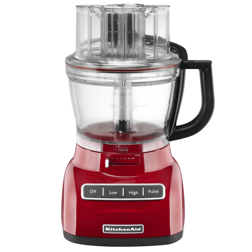 Red Kitchenaid  Cup Food Processor