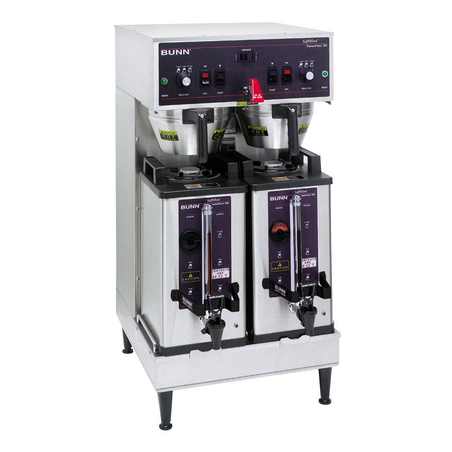 Bunn Coffee Maker Does Not Heat Water : Bunn 27900.0002 Dual Soft Heat Brewer - 120/240V, 6800W