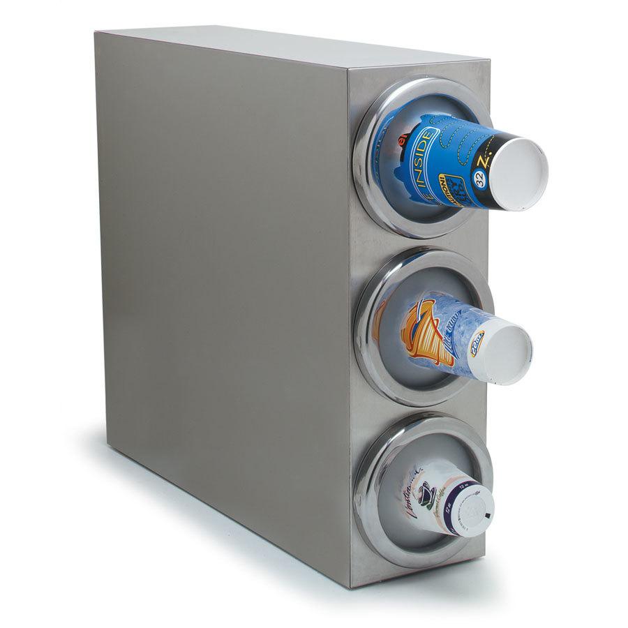 carlisle 38883g 3 tube countertop vertical cabinet cup