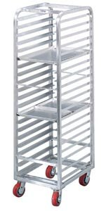 Channel AXD1812 Mobile Heavy Duty End Load Bun Pan Rack (12 Pan Capacity)