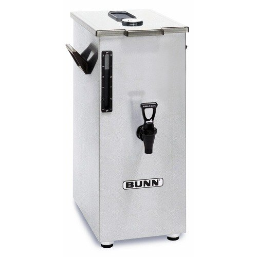Bunn 03250.0018 TD4T 4 Gallon Square Iced Tea Dispenser with Brew-Through Lid - No Decals