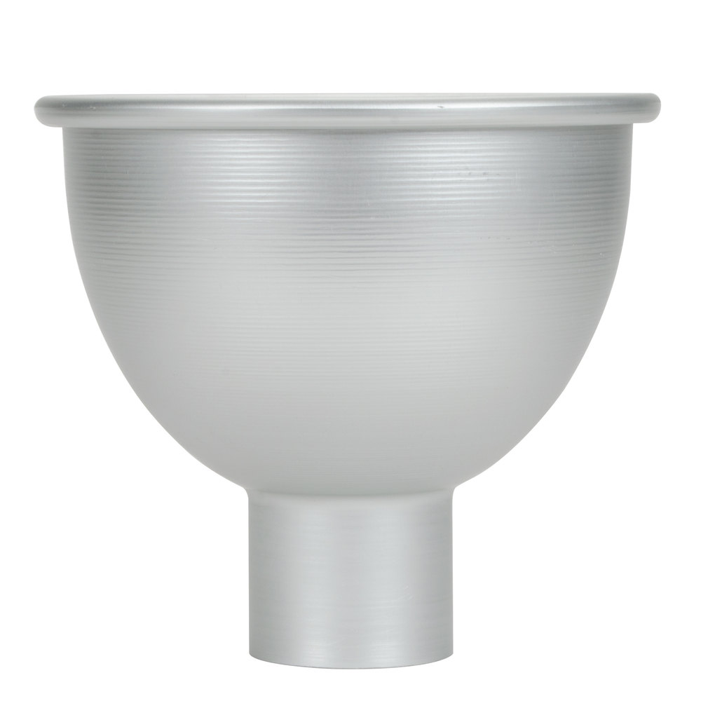 American Metalcraft 1004 4 Qt. Aluminum Large Mouth Funnel