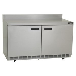 Delfield St4560n 60 Quot Two Door Worktop Freezer 16 9 Cu Ft