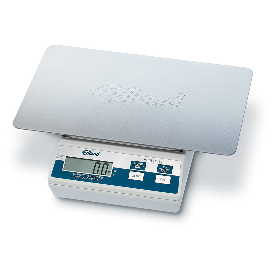Edlund E-160 OP 10 lb. Digital Portion Scale with Oversized 11 inch x 7 inch Platform