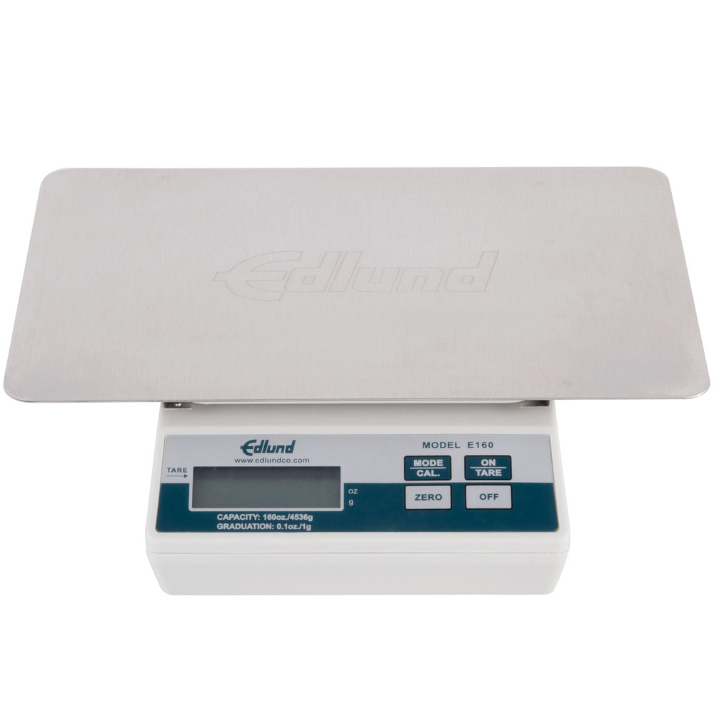 "Edlund E-160 OP 10 lb. Digital Portion Scale with Oversized 11"" x 7"" Platform"