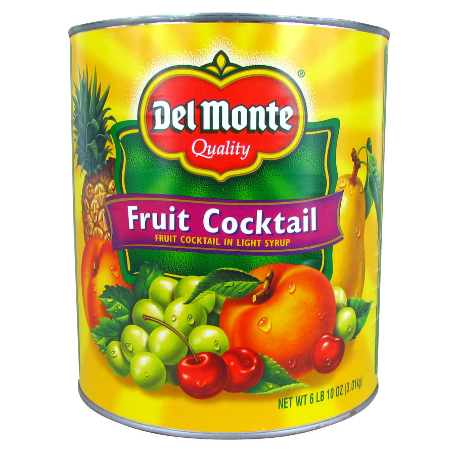 is canned fruit cocktail healthy fruit list