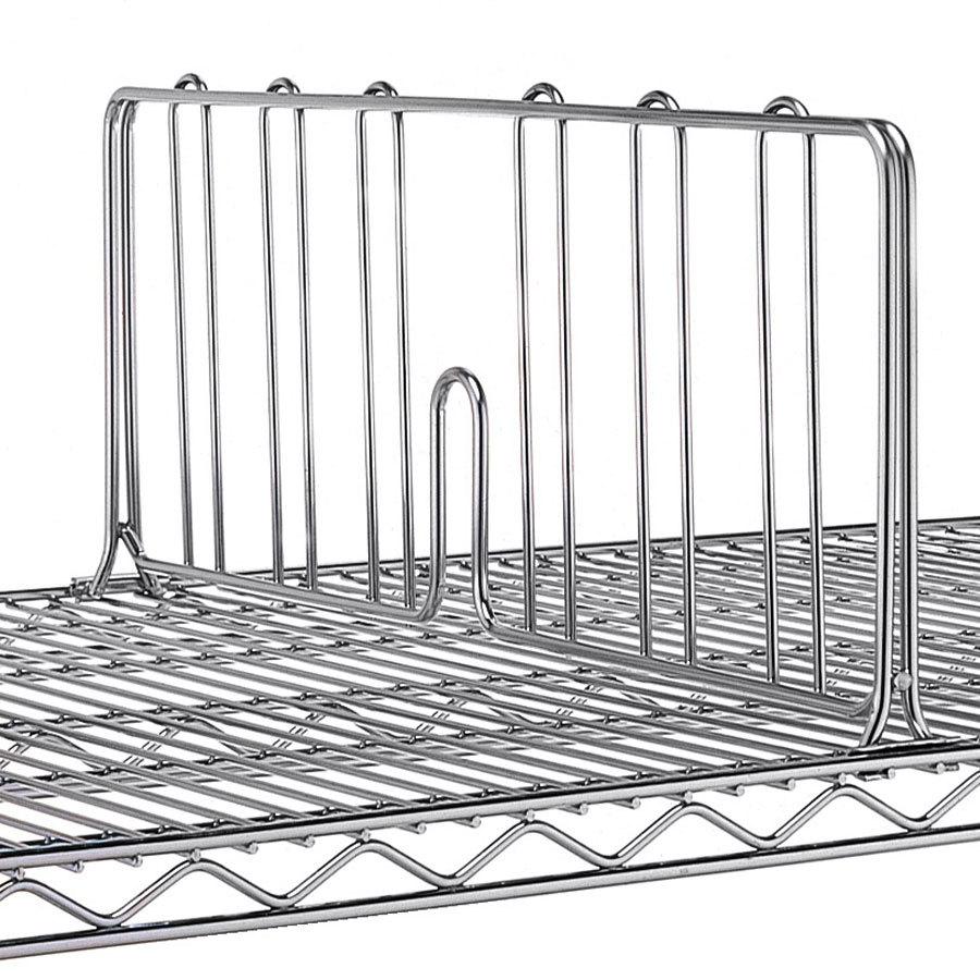 metro dd36s 36 stainless steel wire shelf divider. Black Bedroom Furniture Sets. Home Design Ideas