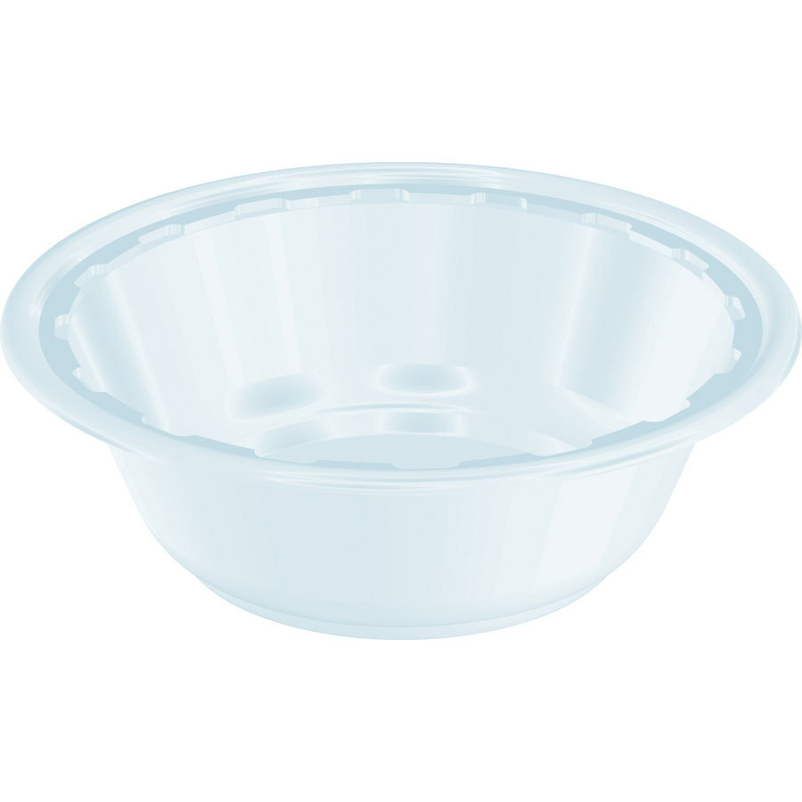 Dart Solo 12BWWF 12 oz. White Heavy Weight Plastic Bowl ...