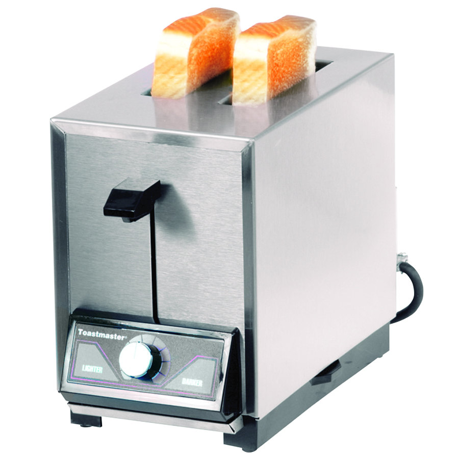 Pop Up Toaster With Oven ~ Toastmaster tp slice commercial pop up toaster v
