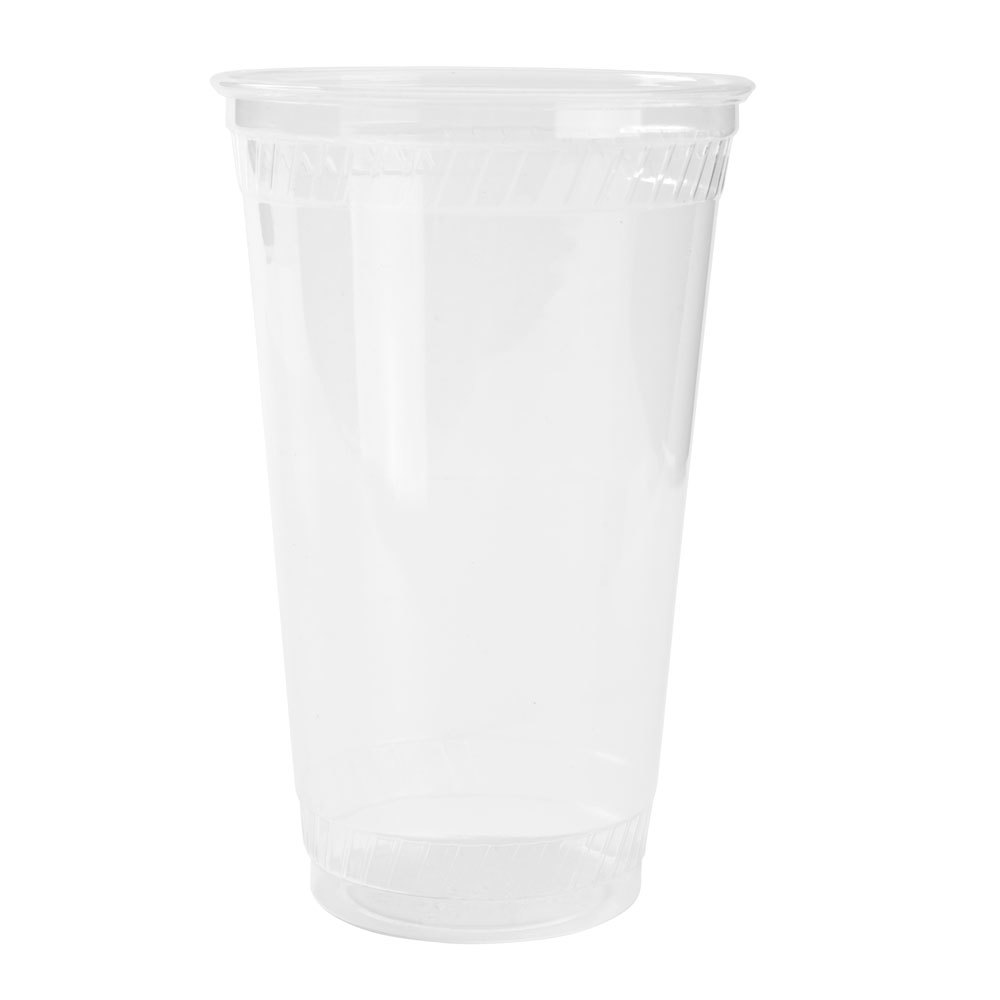Fabri-Kal Greenware GC12S 12 oz. Customizable Clear Plastic Compostable Cold Cup 1000 / Case