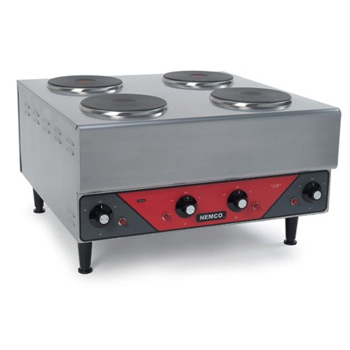 Countertop Electric Stove Walmart : Electric+Burner ... 240 Electric Countertop Raised Hot Plate with 4 ...