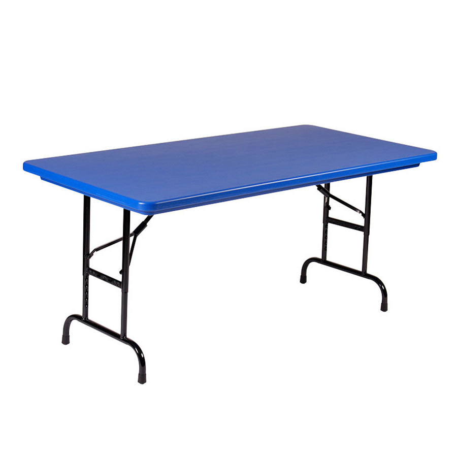 Plastic Folding Table : Correll R-Series R3072 30