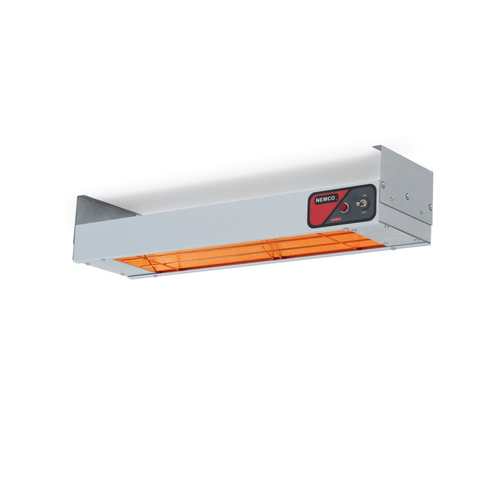 "Nemco 6151-72-CP 72"" Infrared Strip Heater with Infinite Controls - 120V"