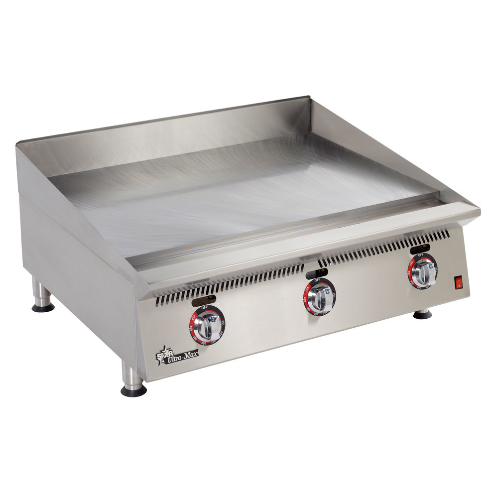 Countertop Griddle : Star 836TA Ultra Max 36