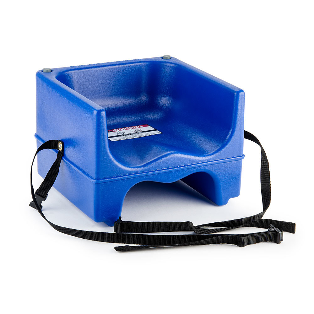 Cambro 200bcs Dual Seat Booster Chair With Strap Navy Blue