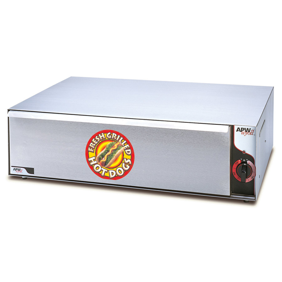 APW Wyott BW-31 Hot Dog Bun Warmer 120V