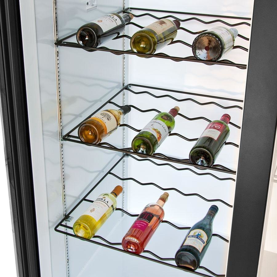 Beverage Air 403-905D-02 Black Colored Wine Rack for LV23 and MMR23 Series