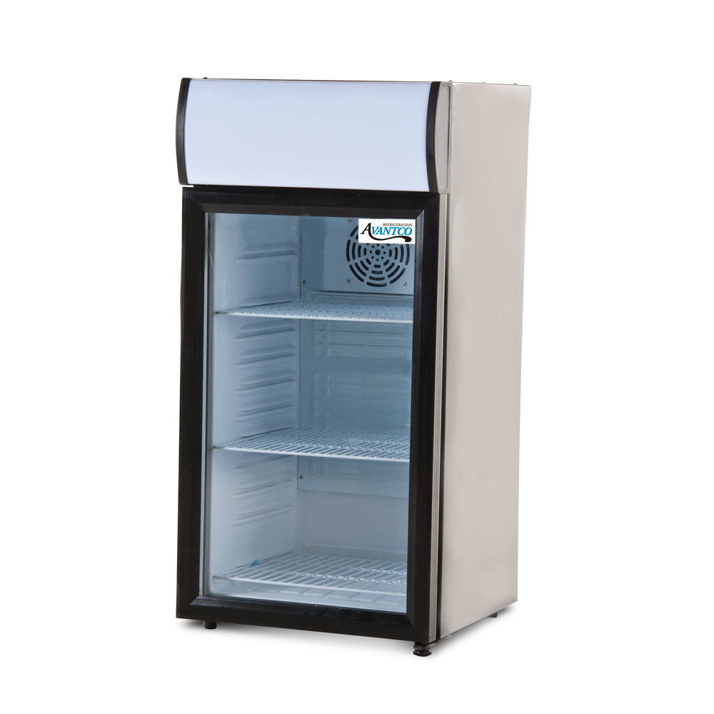 Avantco Sc 80 Countertop Display Refrigerator With Glass