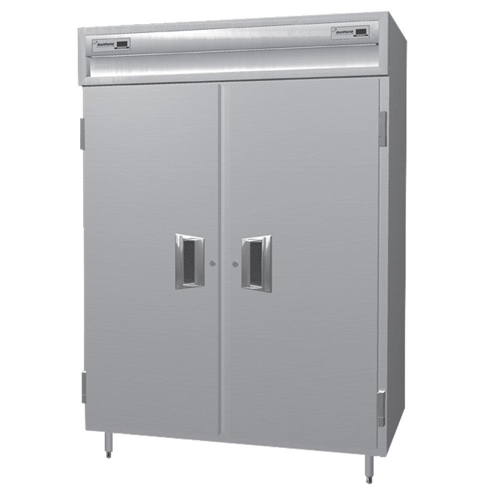 Delfield Smdrl2 S 49 3 Cu Ft Solid Door Dual Temperature