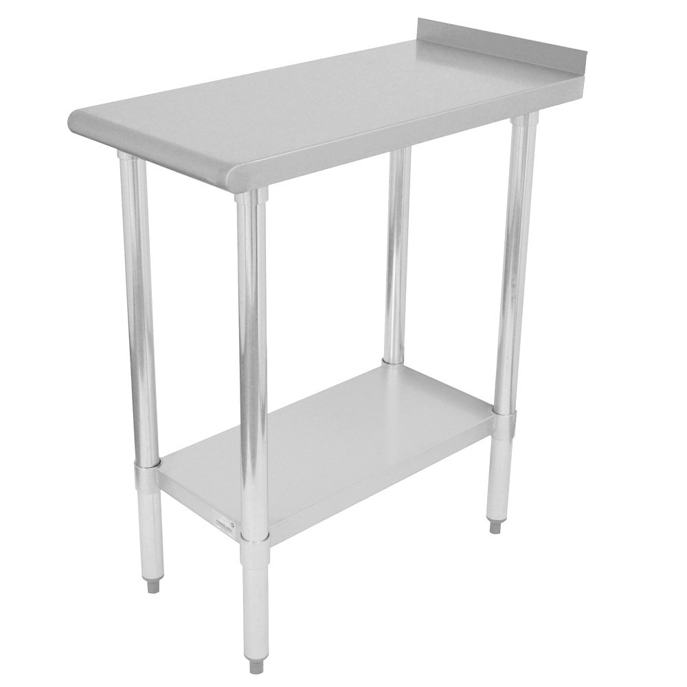 "Advance Tabco FT-3015 15"" x 30"" Economy Equipment Filler Table"