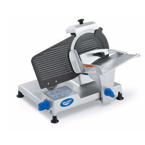 Vollrath 40901 10 inch Light Duty Meat Slicer - 1/3 hp