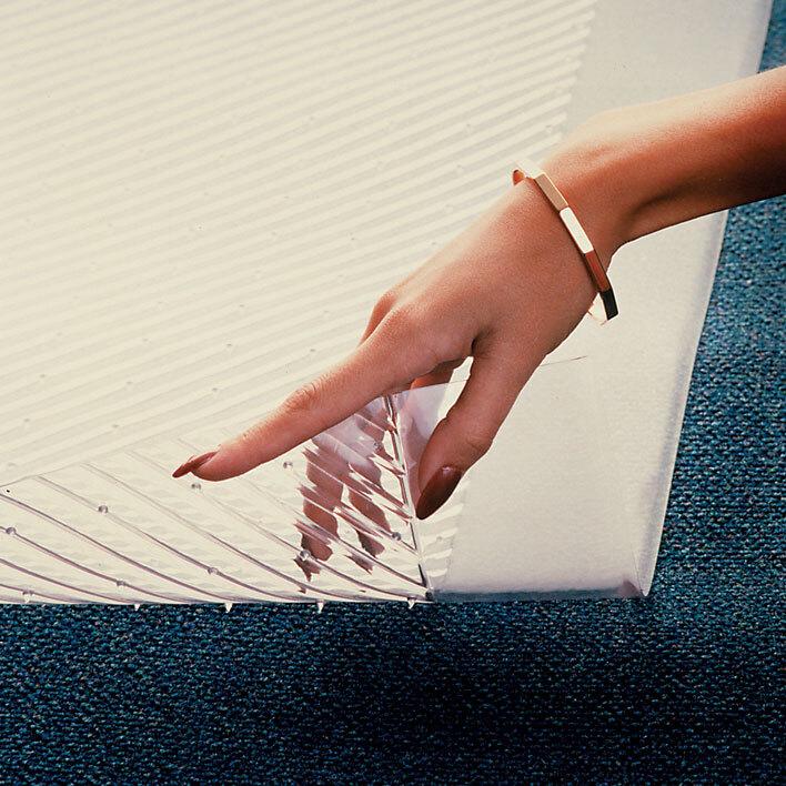 "Cactus Mat Anchor-Runner Clear Vinyl Carpet Runner Mat 24"" Wide Special Cut - 5/16"" Thick at Sears.com"