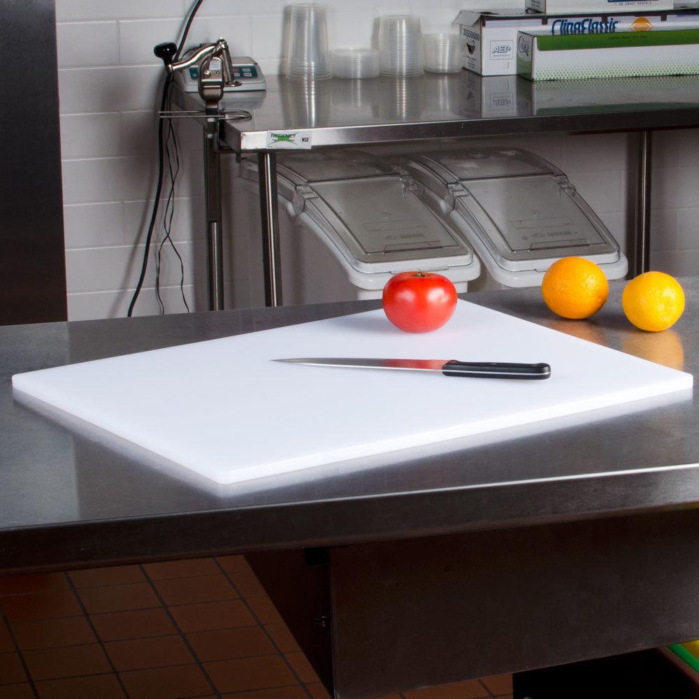 18 x 24 x 1 2 white cutting board. Black Bedroom Furniture Sets. Home Design Ideas