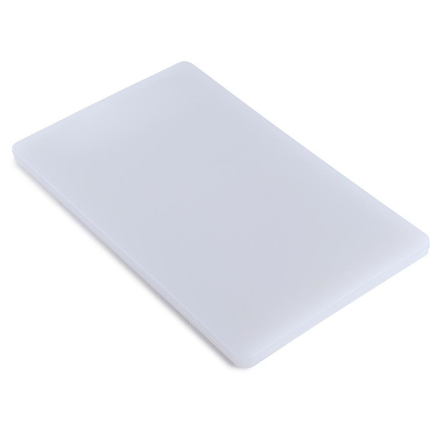 Cutting Board 18 inch x 24 inch x 1/2 inch Poly White