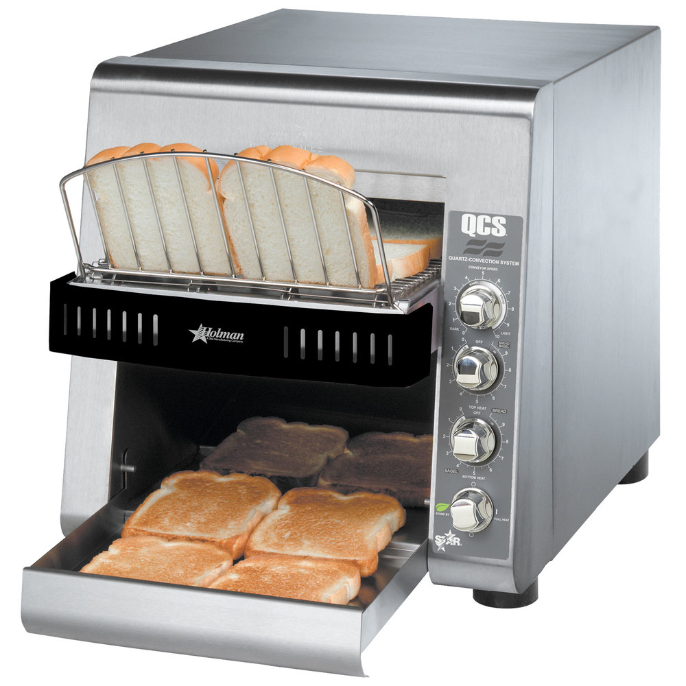 "Star QCS2-500 Conveyor Toaster with 1 1/2"" Opening"
