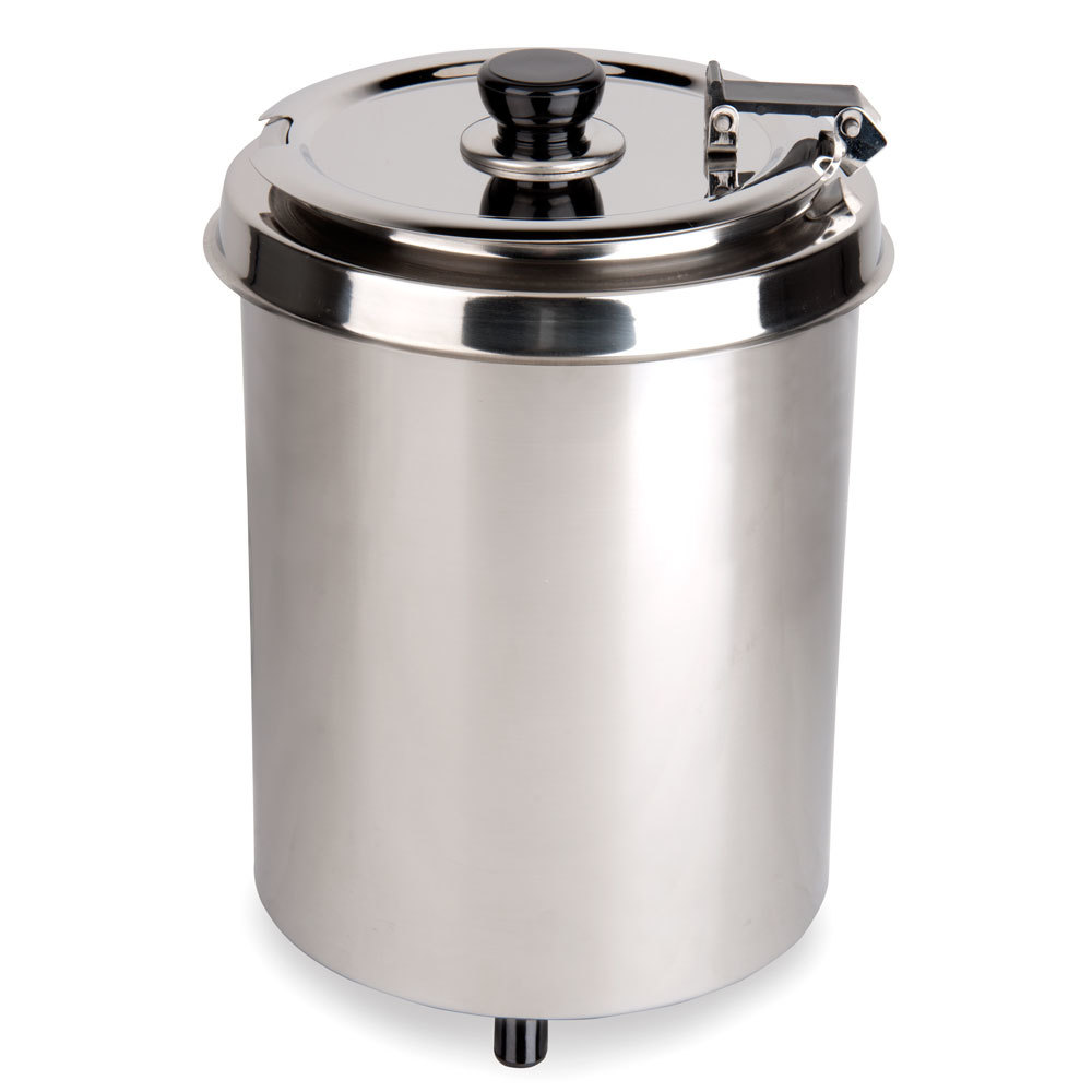 Avantco Equipment Avantco W300SS 6 Qt. Round Stainless Steel Countertop Food Warmer - 110V, 300W at Sears.com