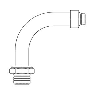 T&S BF-0034-A Big Flo Swivel Adapter Assembly