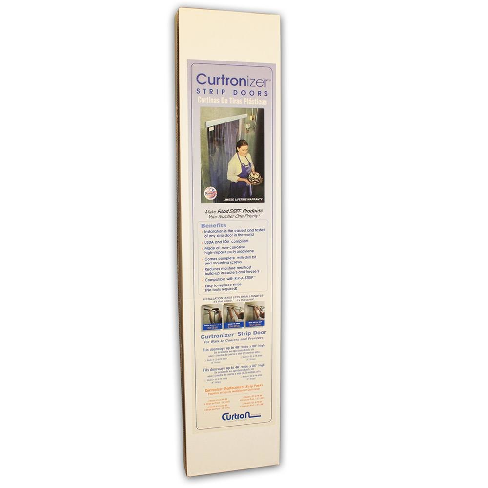 "Curtron M108-PR-86-3PK 8"" x 86"" Polar Reinforced Replacement Door Strips - 3 / PK at Sears.com"