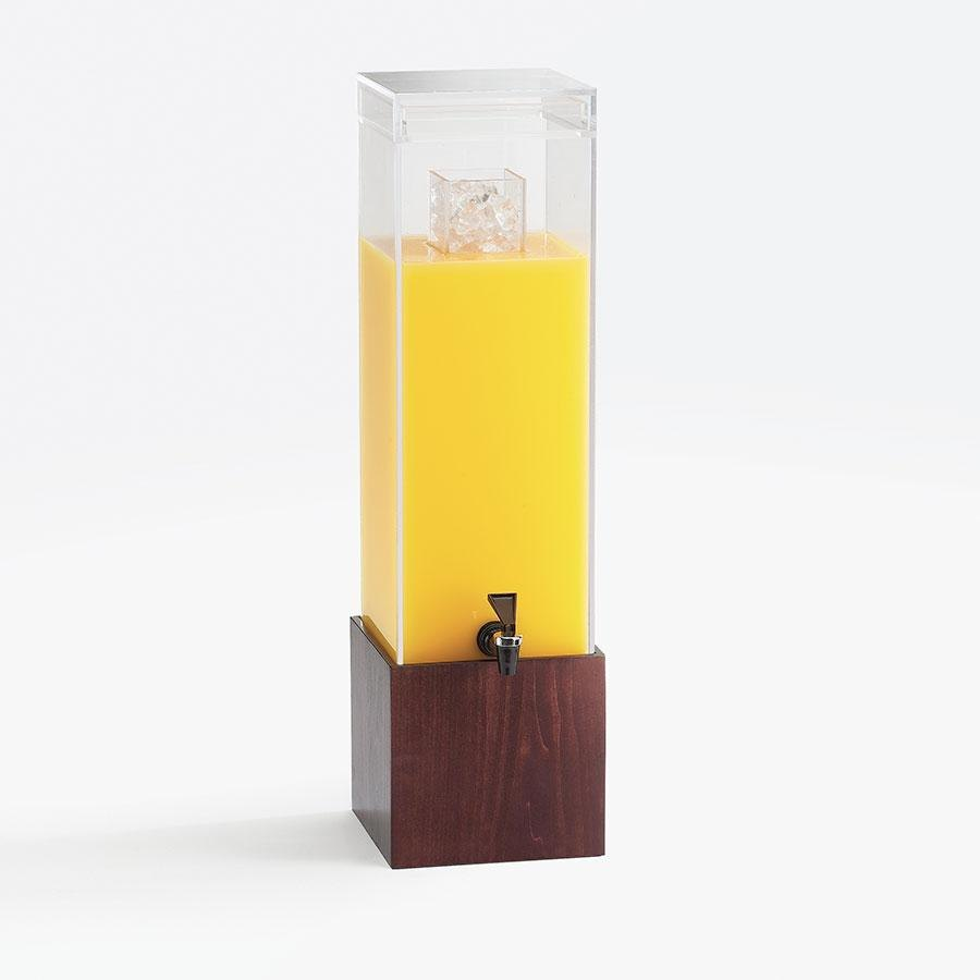 Cal Mil 1527-1-52 1.5 Gallon Westport Beverage Dispenser - 8 1/8 inch x 9 3/4 inch x 17 3/4 inch