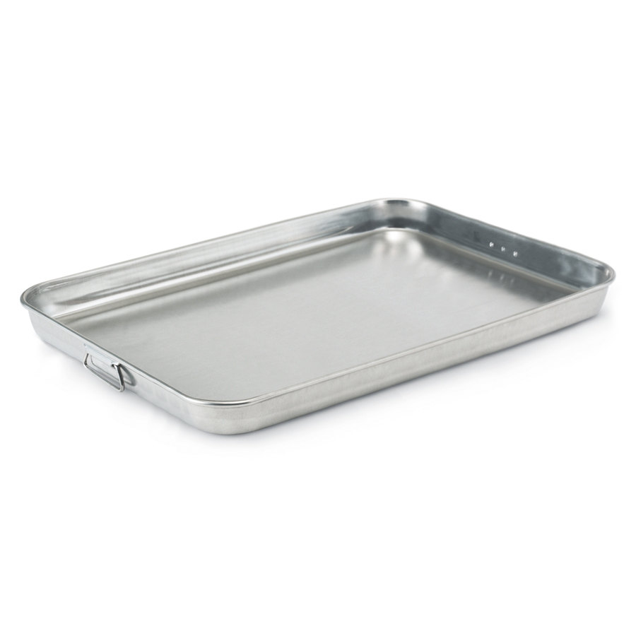"Vollrath 68358 Wear-Ever 23.5 Qt. Bake and Roast Pan with Handles - 25 3/4"" x 17 3/4"" x 3 9/16"""