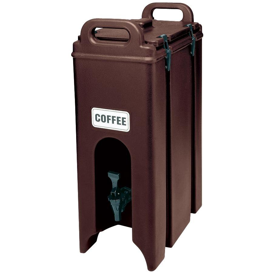 Cambro 500LCD131 Dark Brown 4.75 Gallon Camtainer Insulated Beverage Dispenser
