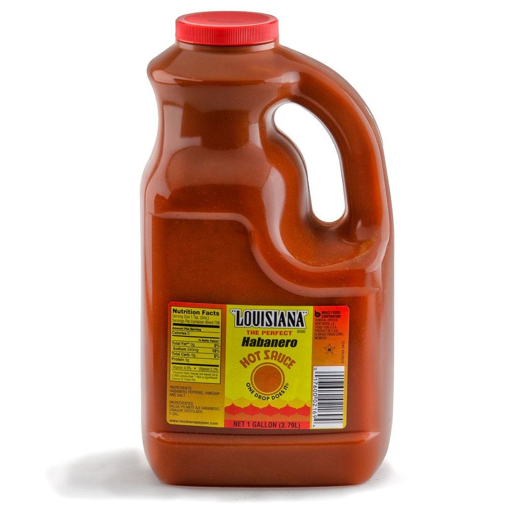 Louisiana Habanero Hot Sauce 1 Gallon