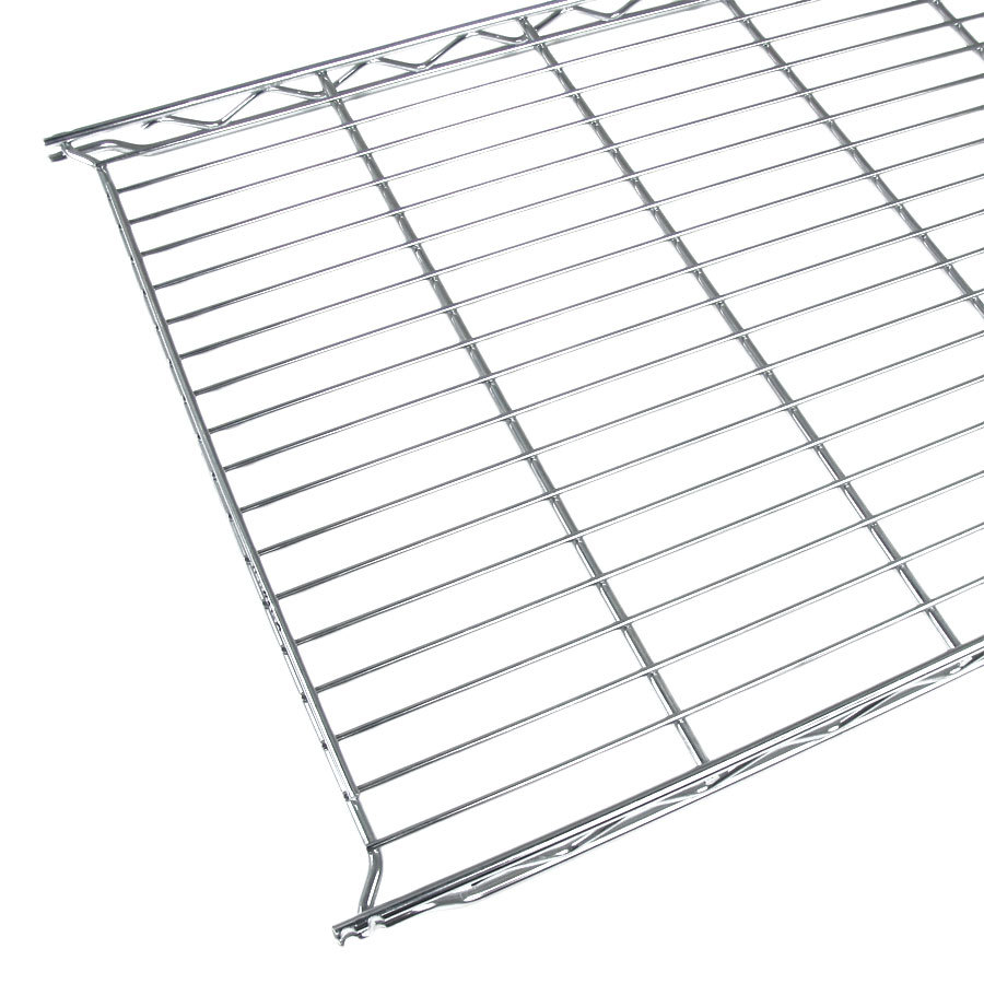 "Metro 1248C 12"" x 48"" Erecta Chrome Wire Shelf"