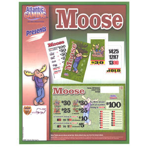 """Moose"" 1 Window Seal Pull Tab Tickets - 516 Tickets Per Deal - Total Payout $395 at Sears.com"