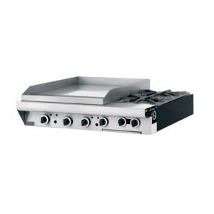 "Garland / US Range Natural Gas Garland M48-23T Master Series 2 Burner Modular Top 34"" Gas Range with 23"" Griddle - Thermostatic Controls at Sears.com"