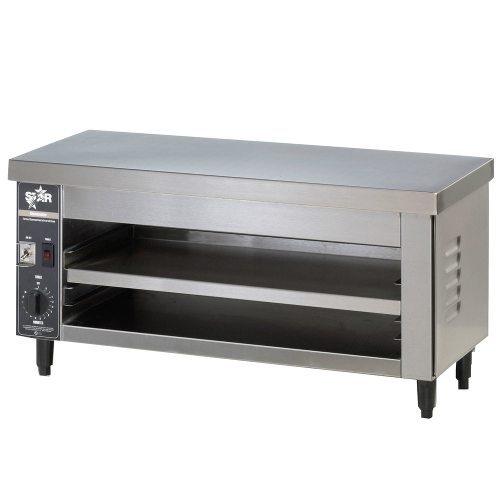 Star Max 526CMA Two Plate Cheese Melter Finishing Oven 26""