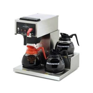Bloomfield 8574D3F Koffee King 3 Warmer Right Stepped Automatic Coffee Brewer, 115/230V