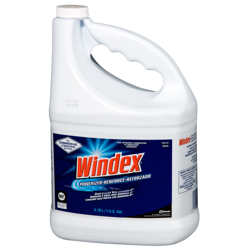 Diversey 90940 1 Gallon Windex Window Cleaner 4/Case