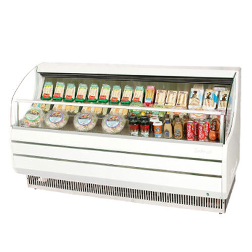"Turbo Air Refrigeration Turbo Air TOM-75S White 75"" Slim Line Horizontal Air Curtain Display Case - 13.2 Cu. Ft. at Sears.com"