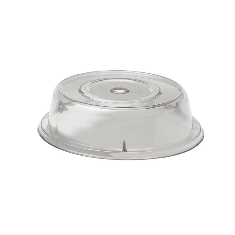 "Cambro 1000CW152 Camwear 10 3/16"" Clear Camcover Plate Cover - 12/Case"