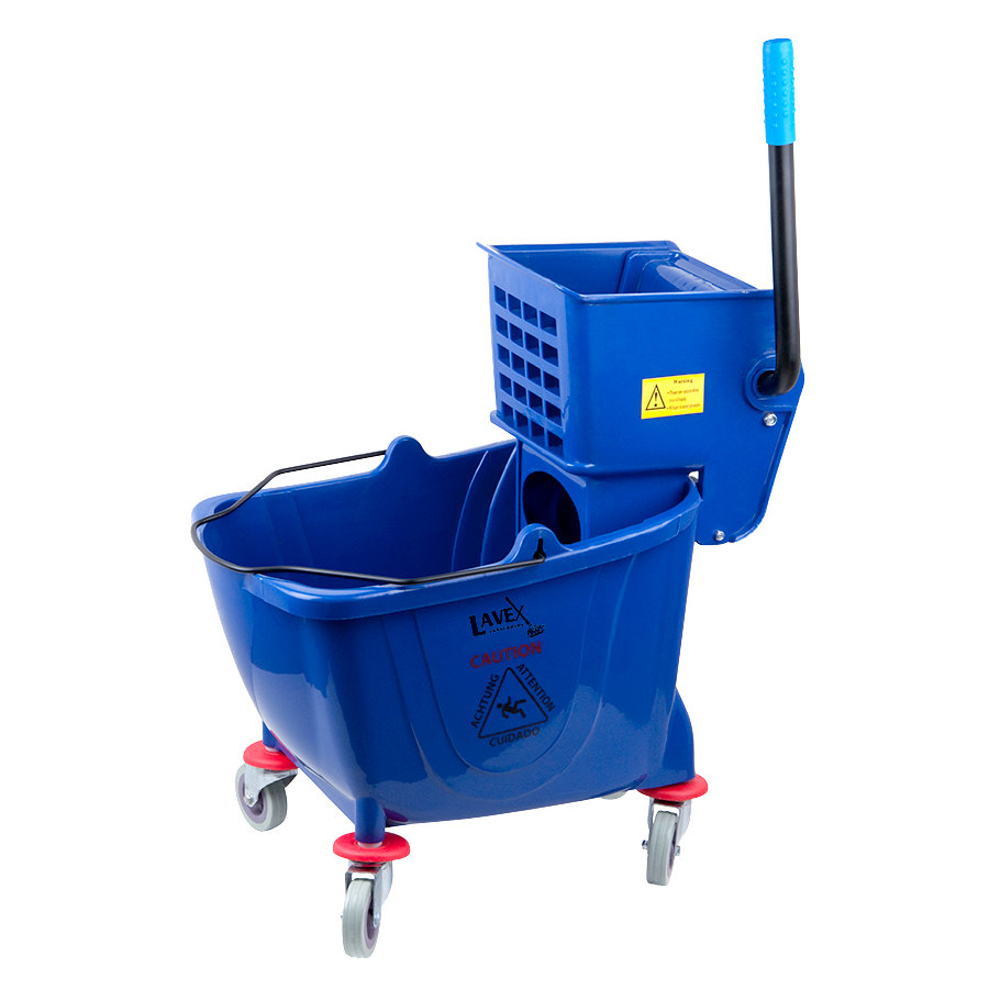 Lavex Janitorial Blue 36 Quart Mop Bucket Amp Wringer Combo