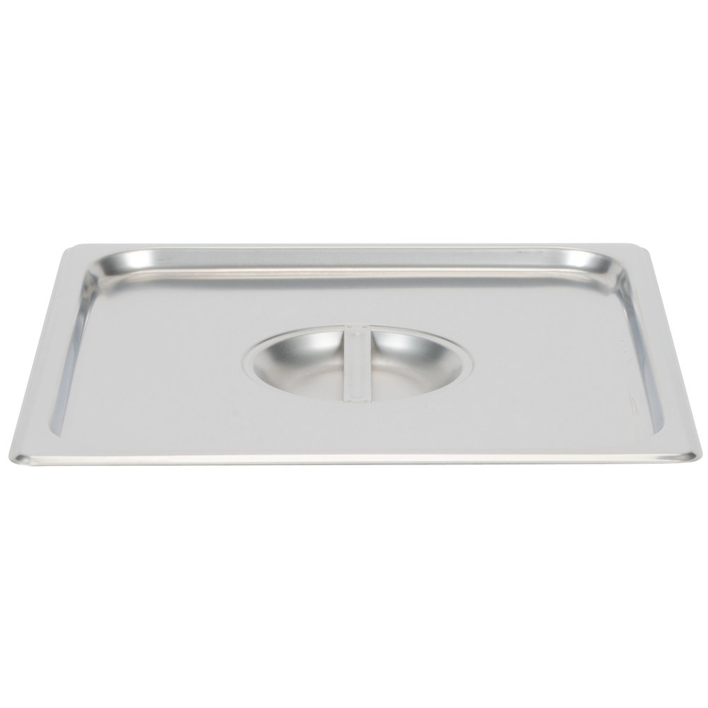 2/3 Size Stainless Steel Solid Steam Table / Hotel Pan Cover