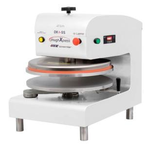 DoughXpress DXA-WH Automatic Pizza Dough Press 18 inch - White, Air Operated