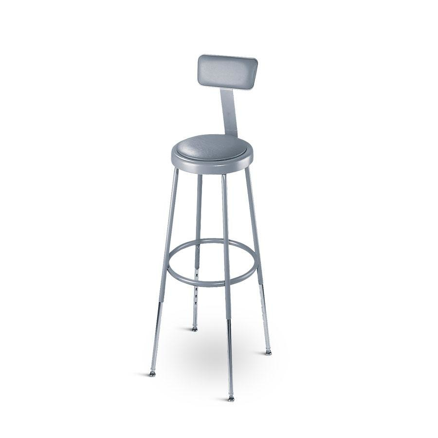 National Public Seating 6430hb 31 Quot 39 Quot Adjustable Round
